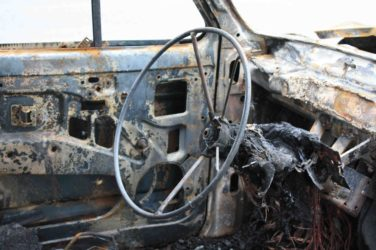 Brennende Elektroautos