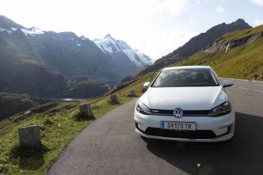 Mit dem VW e-Golf auf den Großglockner