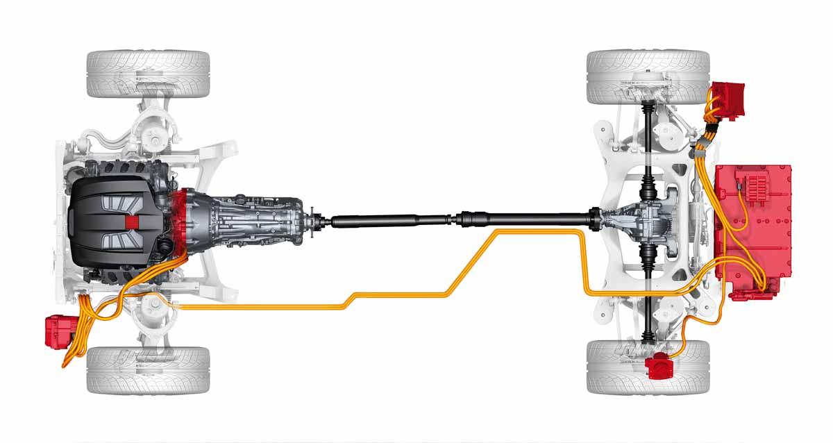 Porsche Panamera Plug in Hybridantrieb