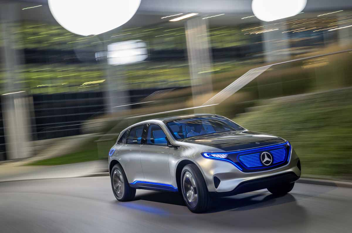 Mercedes-Elektroautos heißen EQ