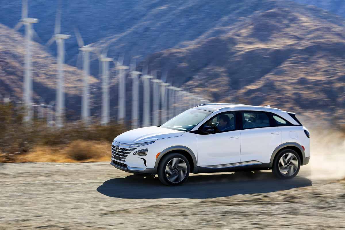 Hyundai Nexo Brennstoffzelle: Wasserstoff Marsch
