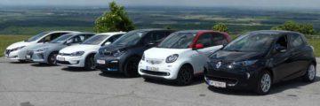 Vergleichstest: Sechs aktuelle Elektroautos