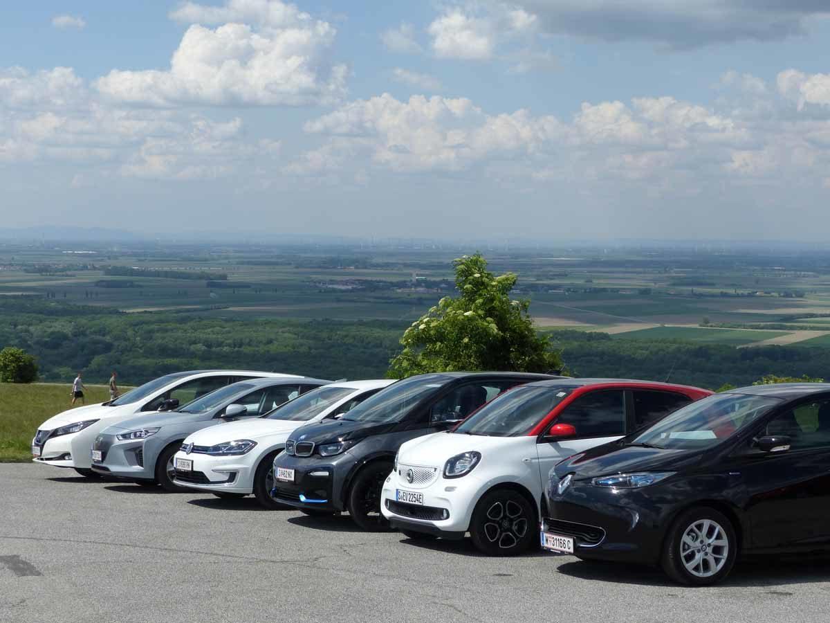 Studie: Elektroautos laden in Österreich