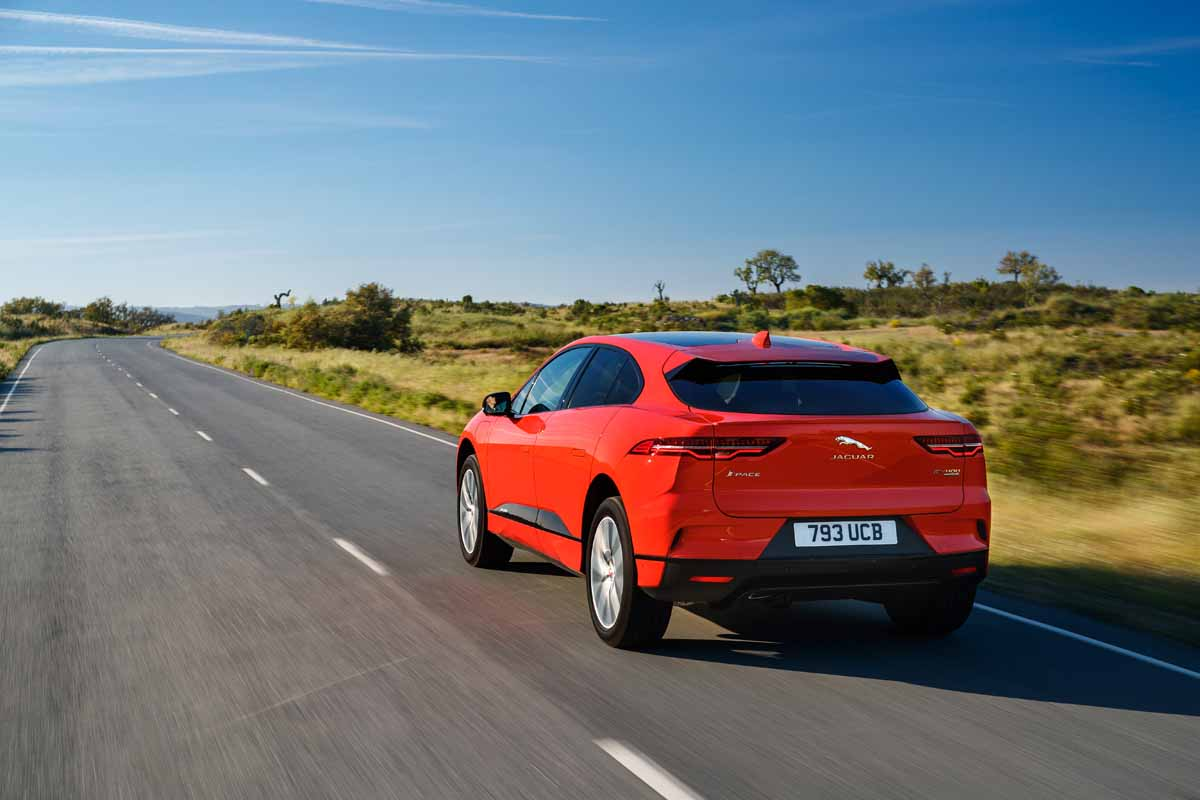 Jaguar I-Pace: Vollgas auf elektrisch