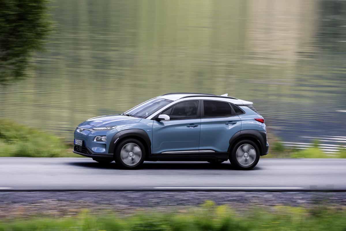Hyundai Kona nun auch vollelektrisch