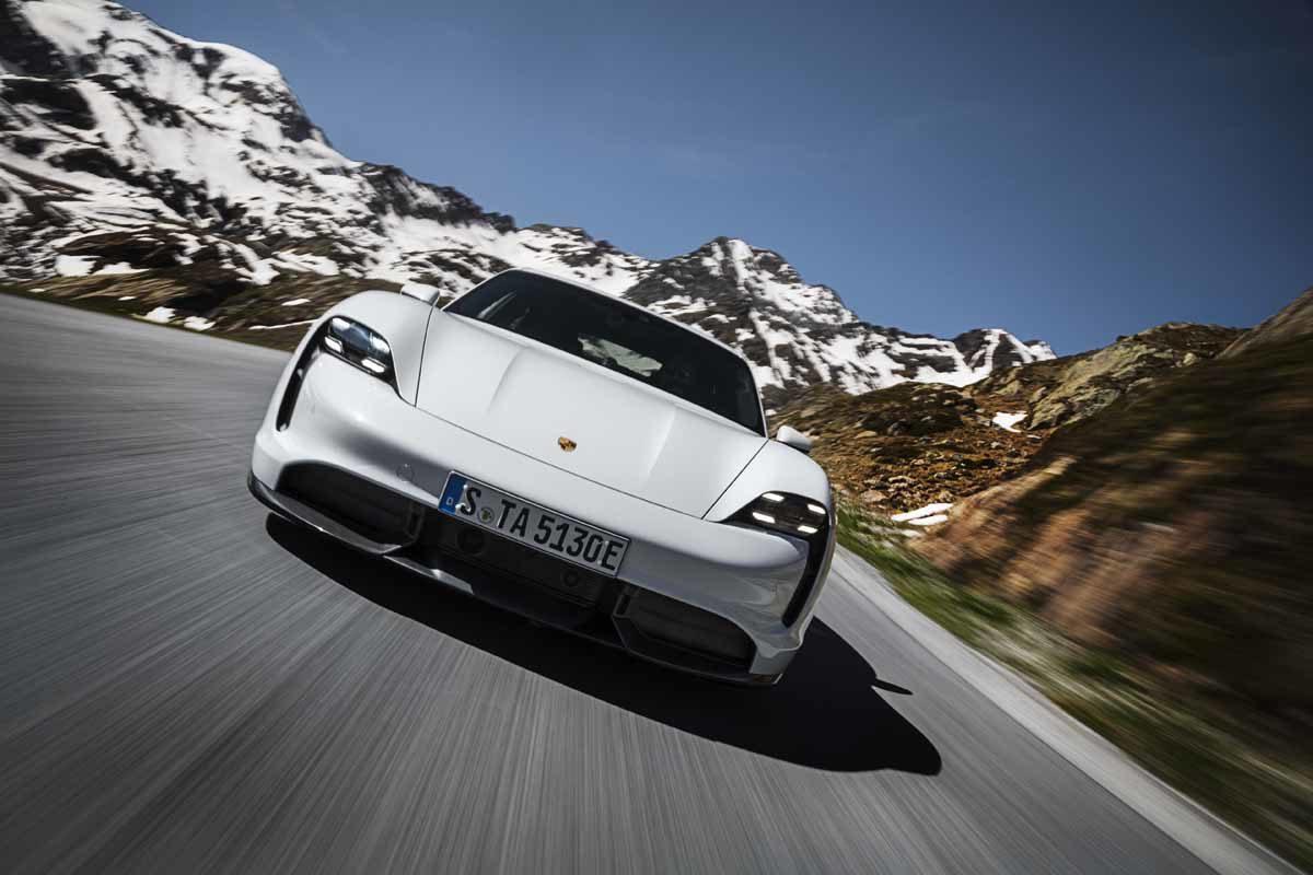 Porsche Taycan: Von der Reproduzierbarkeit des Übermaßes