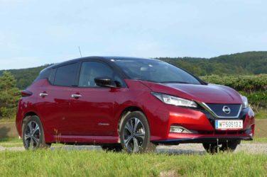 Nissan Leaf mit großer Batterie