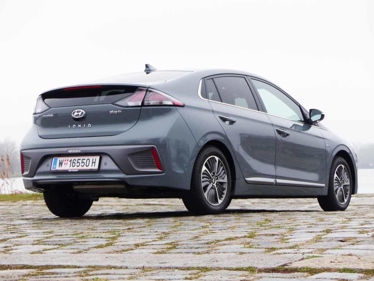 Hyundai Ioniq Plug-in: In der Mitte liegt die Kraft