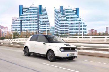 Honda e: Retro-Charme mit Zukunft