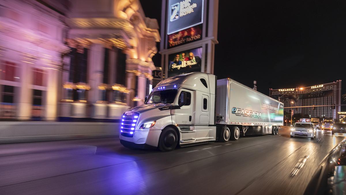 Die neue Umweltechnik: Strom und Wasserstoff im LKW