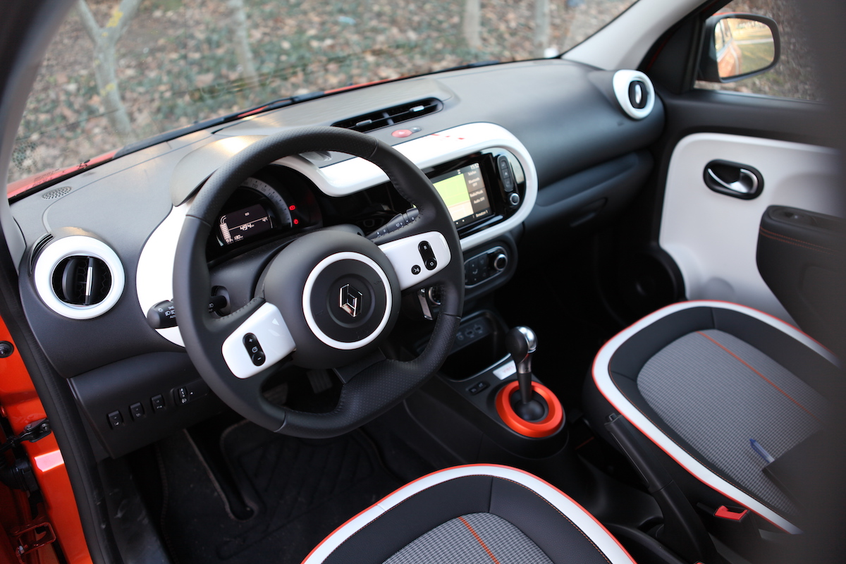 Renault Twingo Electric: Wieselflink