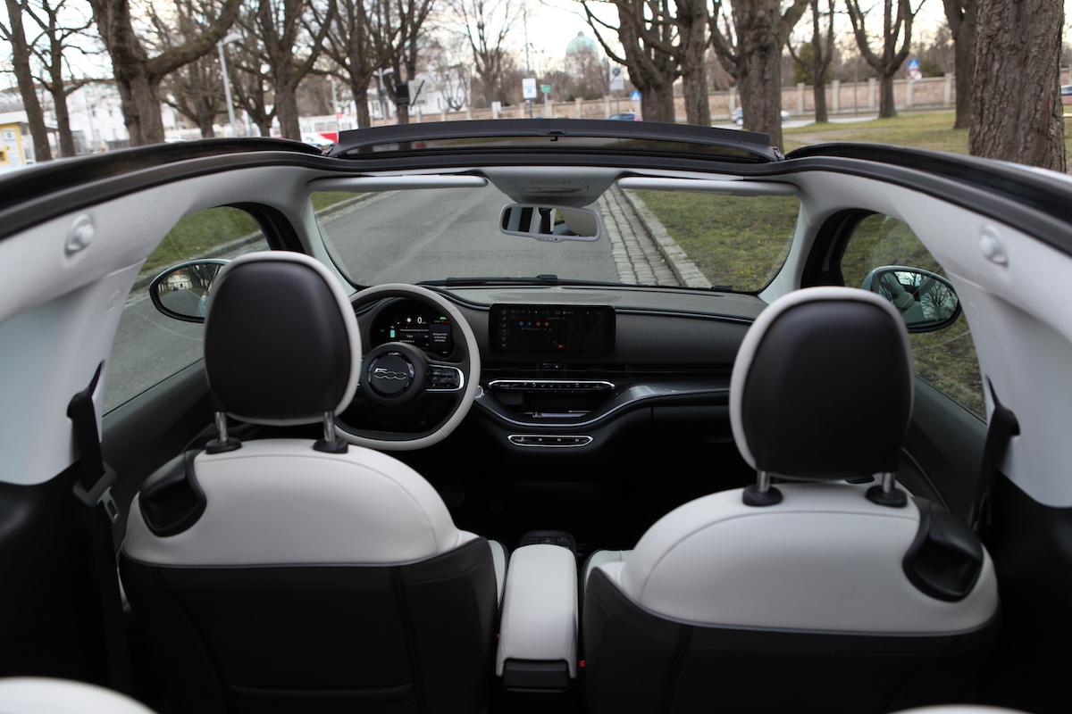 Fiat 500e Cabrio: Mach dir Luft!