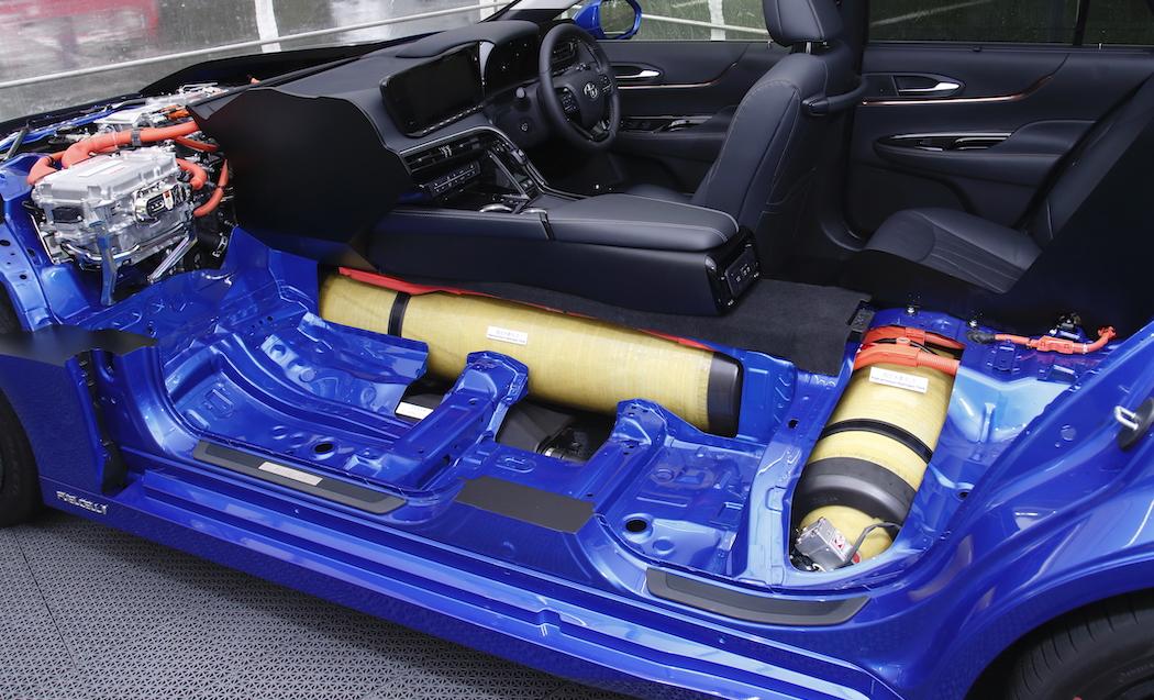 Toyota Mirai: E-Auto mit Wasserstoff